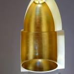 Niche réalisée en 2008-09 à partir du profil de l'arc architectural préhispanique de Labna. Feuille d'or sur plâtre et miroir concave en acier inoxydable poli.  Dans la tête du Bouddha, un miroir est inséré dans l'épaisseur du mur du temple. Ainsi la lumière solaire pénètre à l'intérieur de la niche contenue dans un massif sculpté à partir d'un Bouddha de Corée.