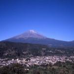 Repérage sur le Popocatepetl 1999.