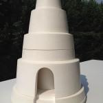 Nachi no taki 2010-11 Modèle réduit en plâtre au dixième. Hauteur 55 cm, diamètre base 37 cm.