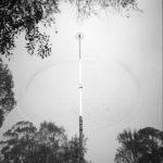 Voladores. Mexico. 2001.Sténopé. 4X5 inches. FP4