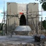 L'oratoire. JC Pigeau. En cours de construction en 2008.