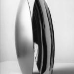 Esquisse de projet monumental 1991-2001 Acier inox faces internes polies. Aspect extérieur mat. Diamètre 32 cm