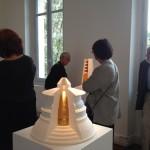 Colonne céleste-2010 In exposition Archi-Sculpture du 14 mai au 1er novembre 2015 à la Fondation Datris. L'Isle-Sur-La-Sorgue. 84800
