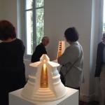 Temple circulaire 2010, In exposition Archi-Sculpture du 14 mai au 1er novembre 2015 à la Fondation Datris. L'Isle-Sur-La-Sorgue. 84800