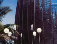 Les Conques face au Centre Tjibaou. Nouméa. Nouvelle Calédonie 2002