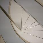 Maquette plâtre avec corps fuselé en laiton. (in Éloge de la traversée. Actes Sud. 1998)