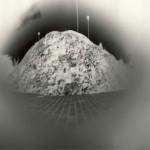 Sténopé. Cuexcomate « Le plus petit volcan du monde ». 2003. Puebla. Papier baryté