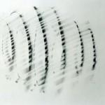 Les Portes du vent 2003. Fusain 65x50