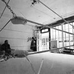 Le Ring et Jean-Charles Pigeau 1981-1983 in atelier (photographie Daniel Van Nguyen)