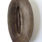 Objet de méditation. Moule/sculpture en bronze et feuille d'or. EA1/4. Fonderie Chapon avril 2015