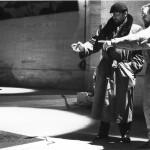 Jacques Kerchache et Jean-Charles Pigeau. Exposition personnelle 1991. Réglage des lumières