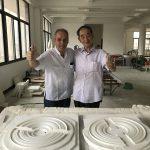 Leshan 2017, porcelaine blanche Dehua. M. Qiu et JCP