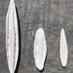 Tirages en porcelaine blanche. Atelier Wangxi