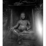 Temple de Lin yin. Hangzhou. 2018. Impression jet d'encre sur papier Hanemulhe, réalisés par le Studio Label Image. Paris Format 65 x 50 cm. Edition 1/8 avec cachet JCP