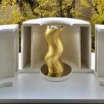 1 Torsade sculpture 1 platre or page de garde